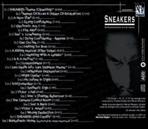 Sneakers Cover Back